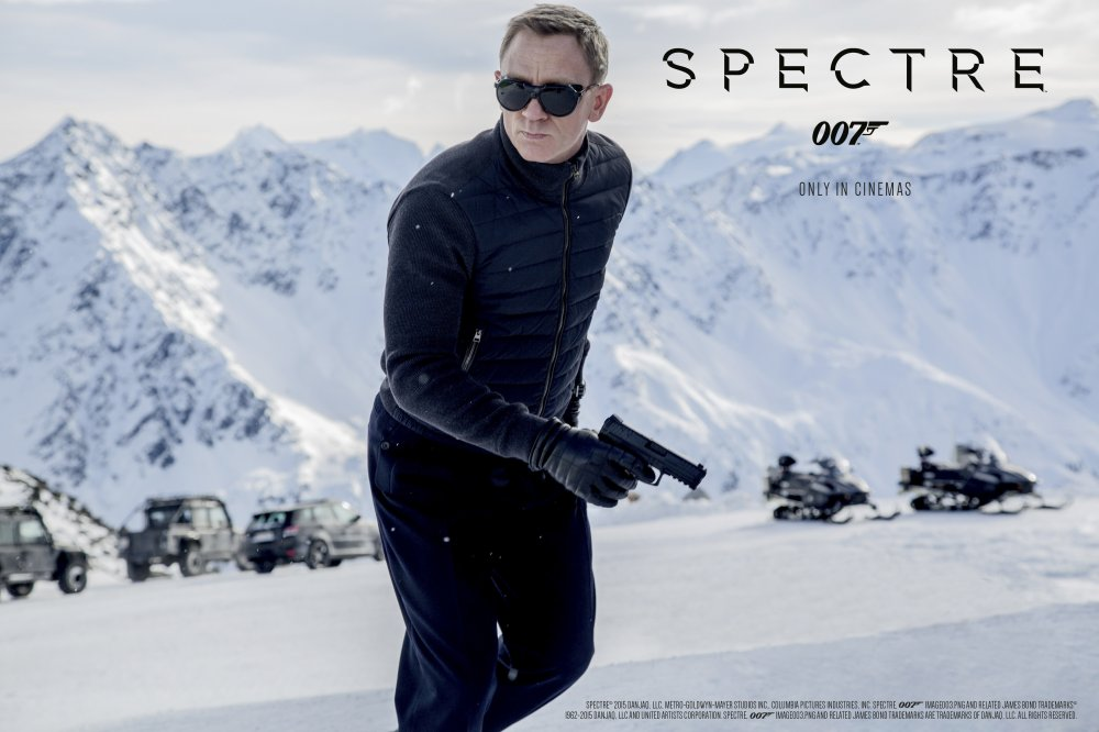 James Bond Dreh in Sölden
