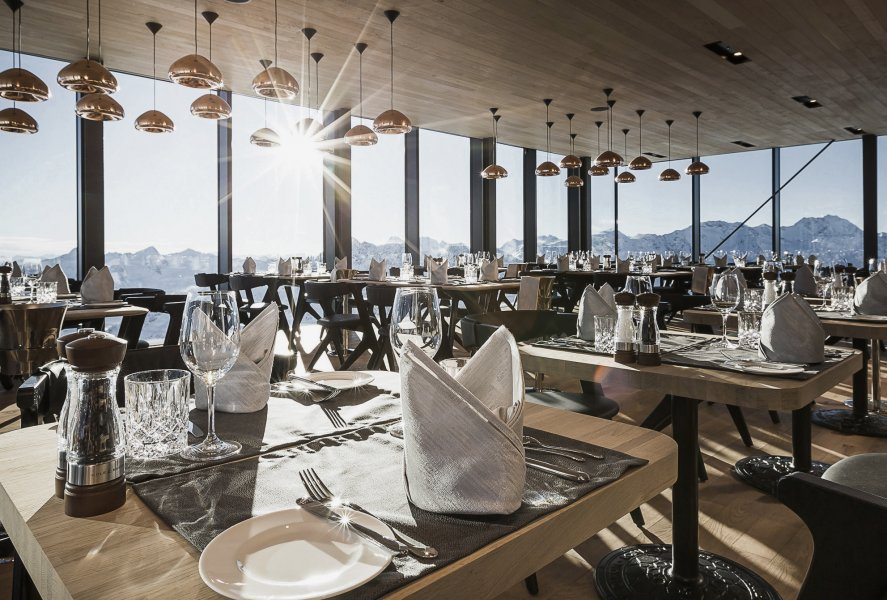ice Q Restaurant in Sölden - Alpine Cuisine